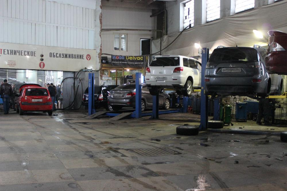 Ремонт и обслуживание автомобилей Mitsubishi и Hyundai в Новосибирске